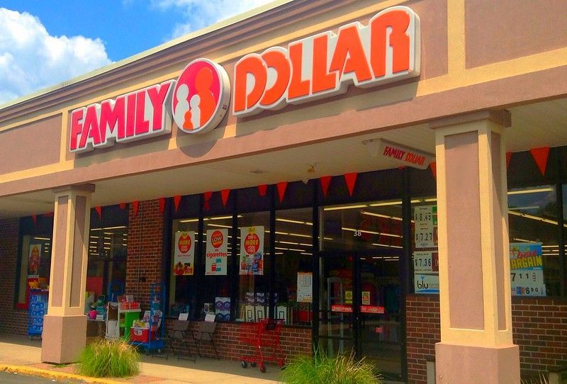 Loja de descontos Family Dollar em Bloomfield, Connecticut. Foto: Mike Mozart